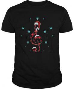Musical Note Santa Hat  Unisex