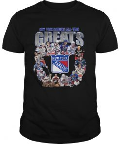 New York Rangers Alltime greats signature  Unisex