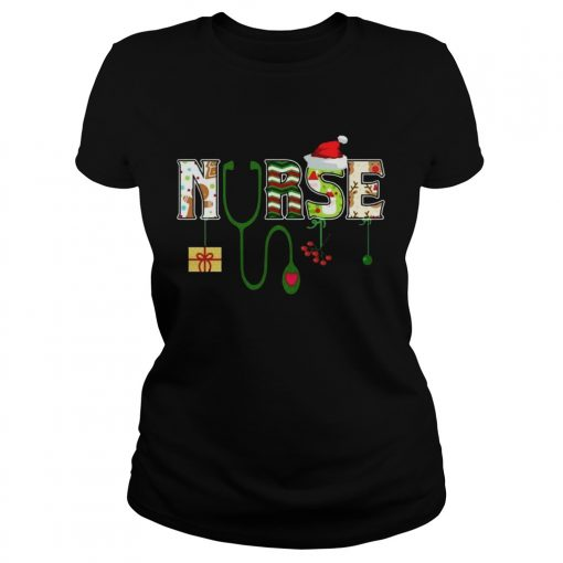 Nurse Christmas  Classic Ladies