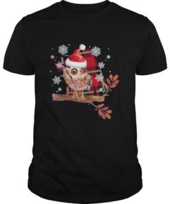 Owl Christmas  Unisex