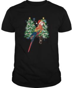 Parrot Watercolor Christmas  Unisex