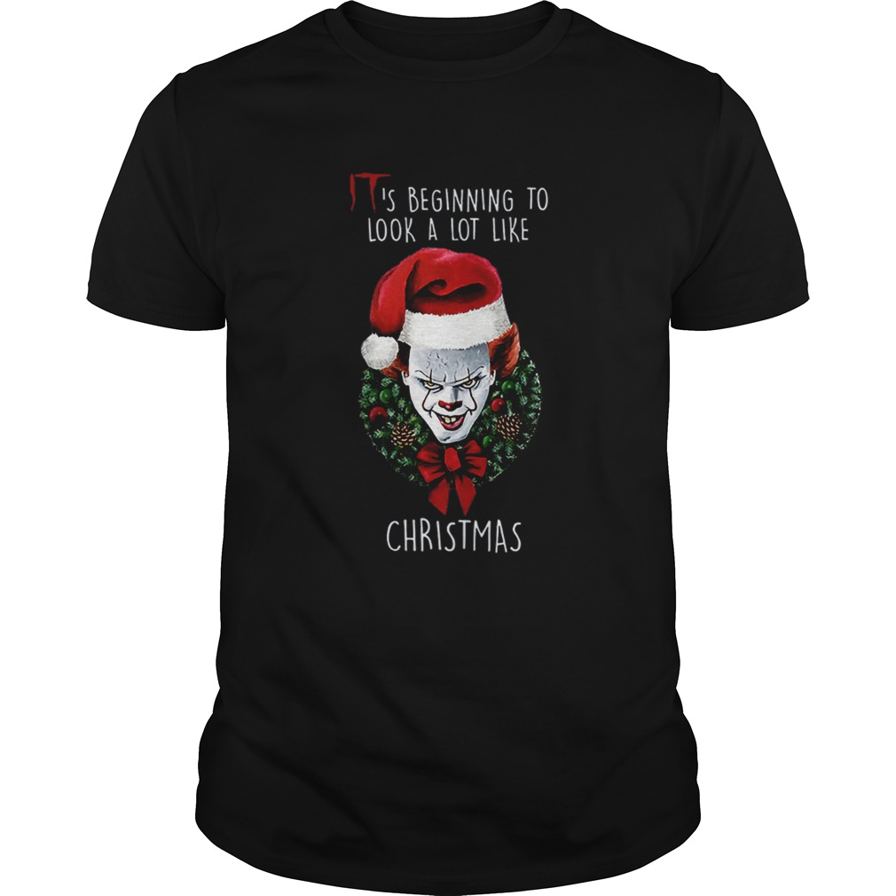 Pennywise Its Beginning To Look Alot Like Christmas Shirt Masswerks Store