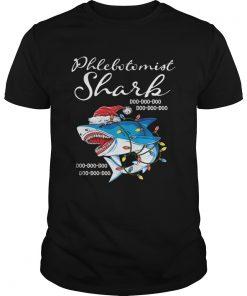 Phlebotomist Shark In Santa Hat Christmas  Unisex