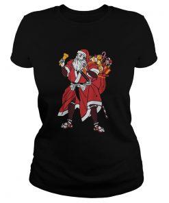 Samurai Santa Christmas  Classic Ladies