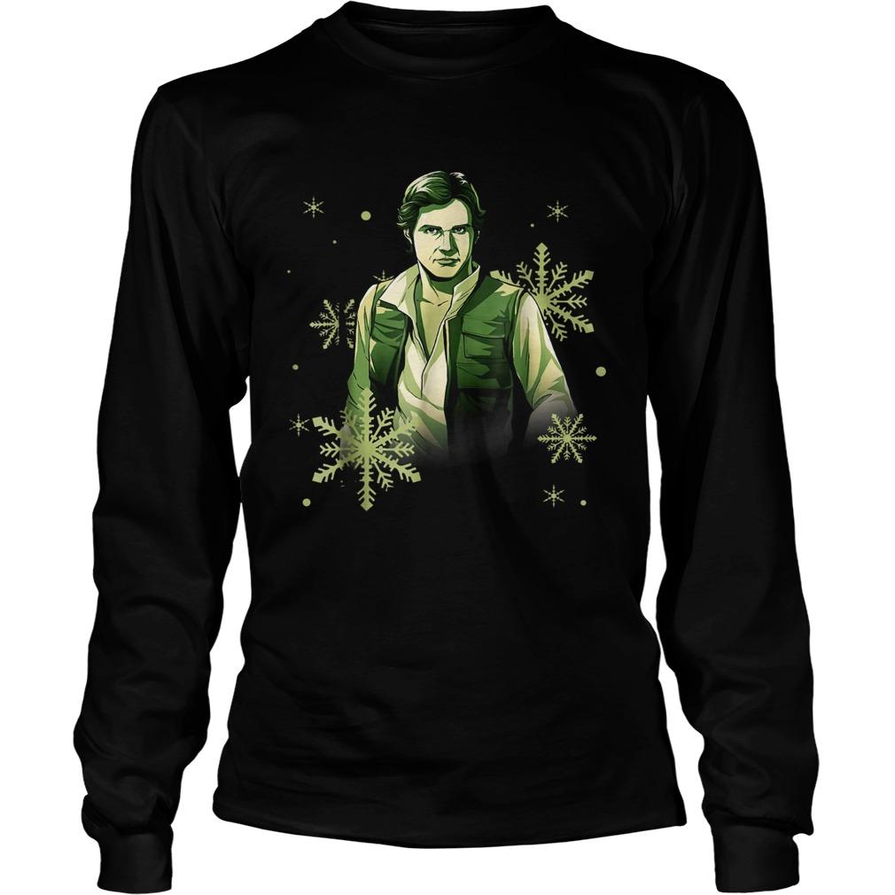 Star Wars Han Solo I Noel Christmas Snowflake Shirt Masswerks Store