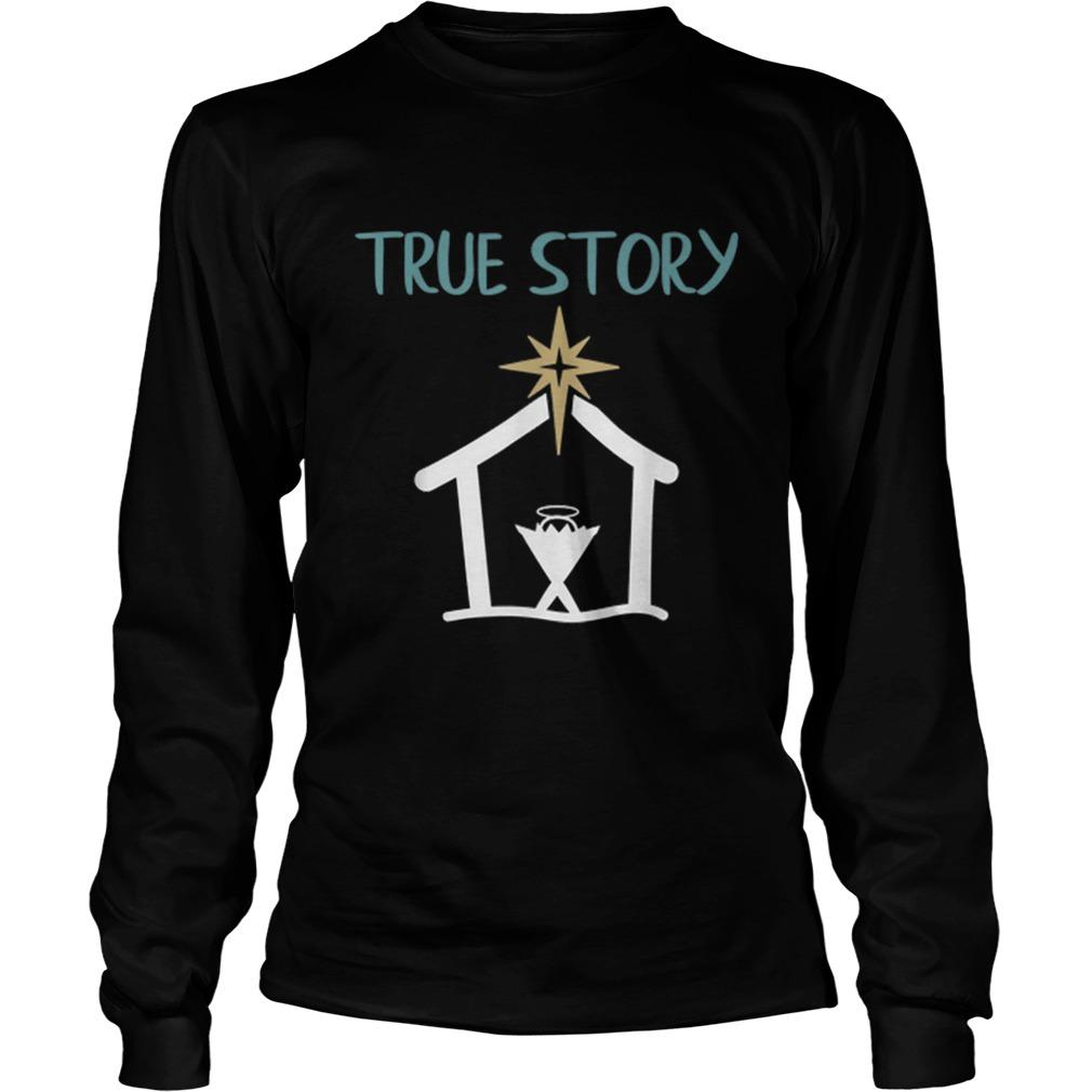 True Story Christmas Nativity Shirt Masswerks Store