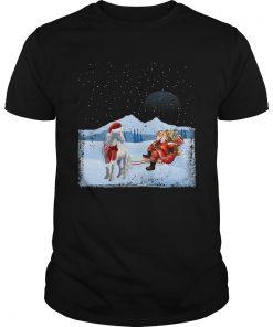 Unicorn And Santa Claus  Unisex