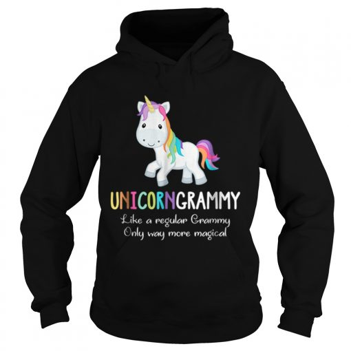 Unicorn Grammy Cute Magical Funny Christmas  Hoodie
