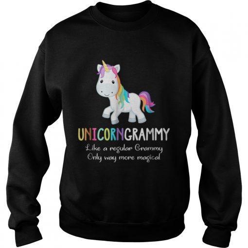 Unicorn Grammy Cute Magical Funny Christmas  Sweatshirt