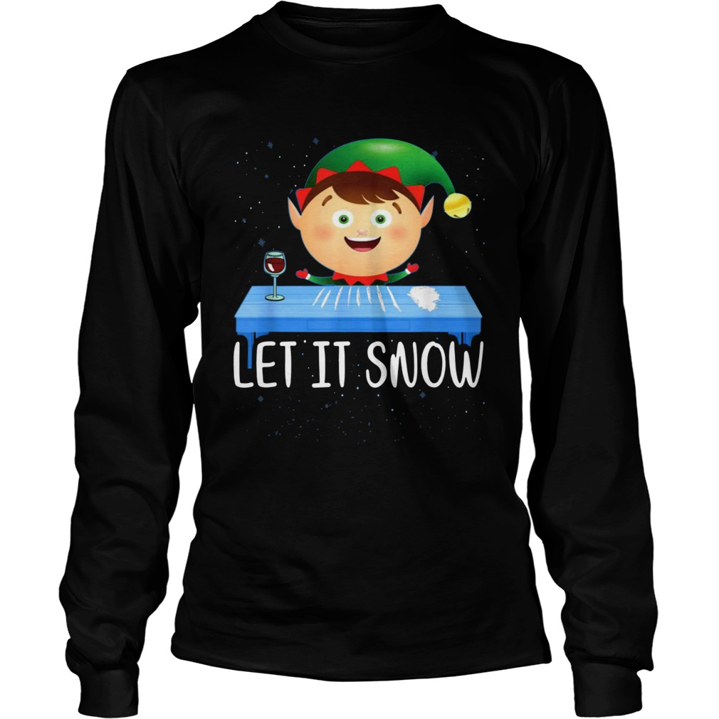 Walmart Cocaine Santa Elf Let It Snow Shirt Masswerks Store