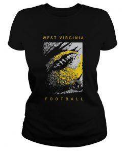 West Virginia Mountaineers Football  Classic Ladies