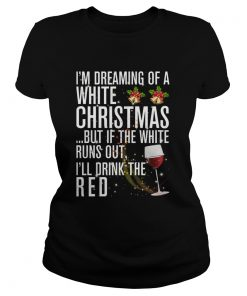 White Christmas Red Wine  Classic Ladies