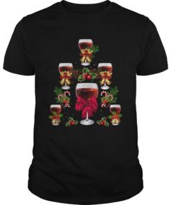 Wine Christmas Tree  Unisex
