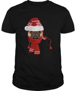 let it snow Pug Dog  Unisex