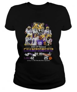 2020 CFP National Championship LSU 42 Clemson 25  Classic Ladies