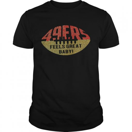49ers Feels Great Baby Ball  Unisex