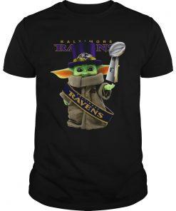 Baby Yoda Baltimore Ravens Cup  Unisex