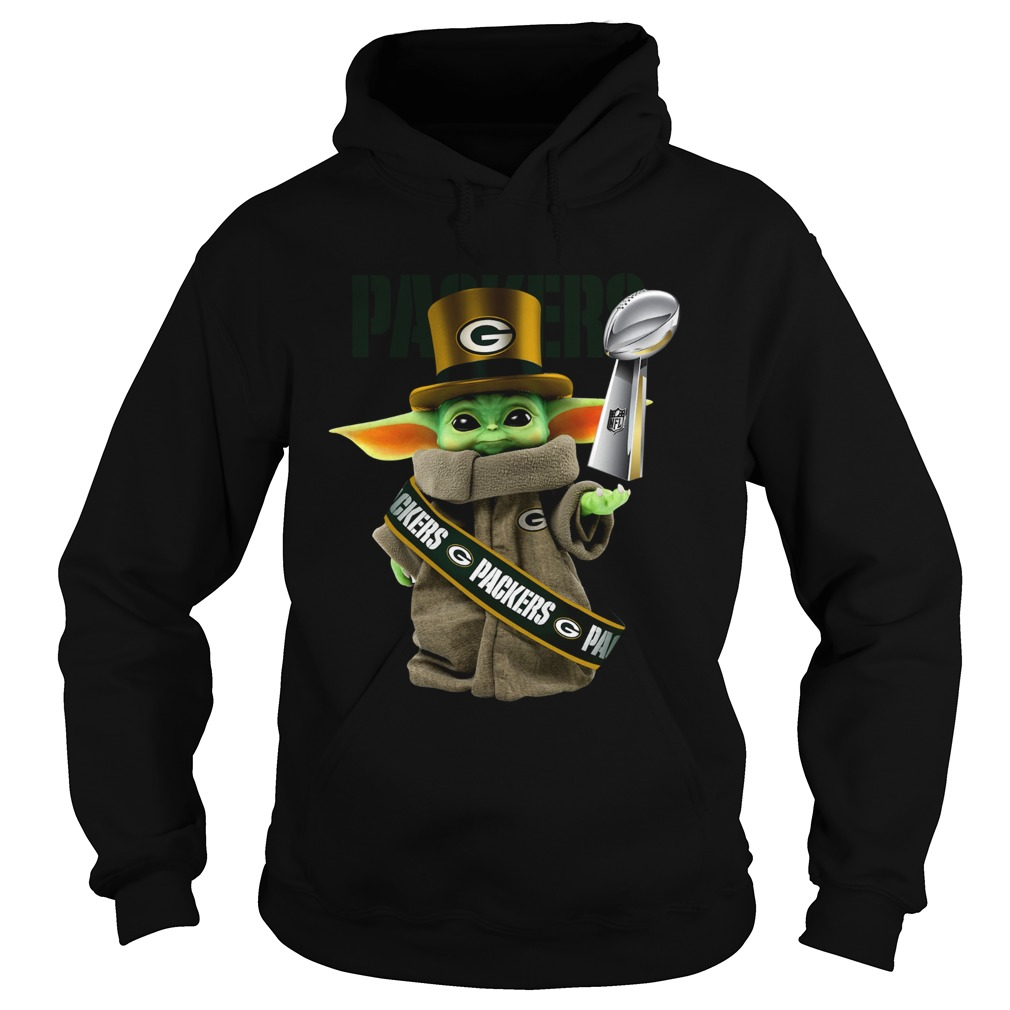 Baby Yoda Green Bay Packer Cup Hoodie