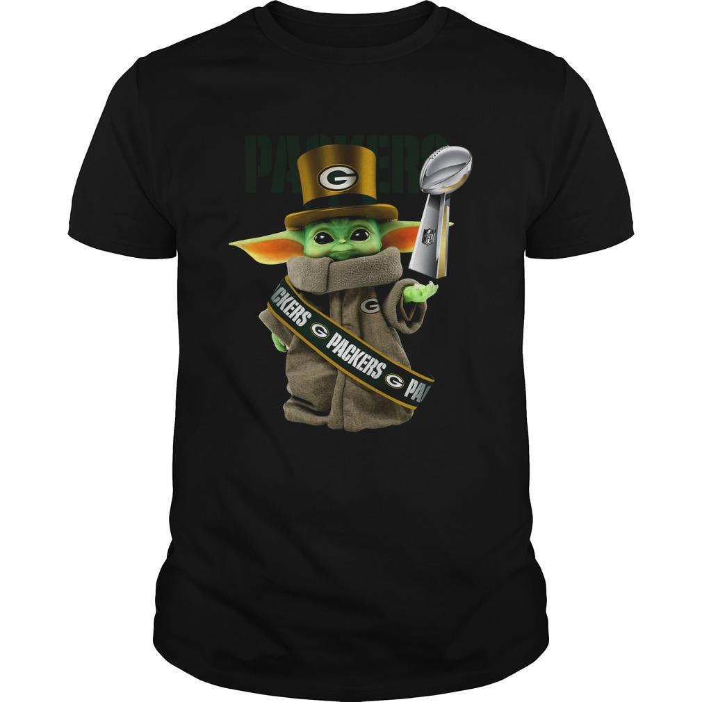 Baby Yoda Green Bay Packer Cup Unisex