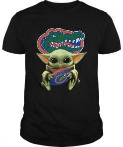 Baby Yoda Hug Florida Gators  Unisex