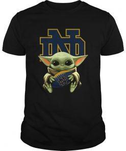 Baby Yoda Hug Notre Dame  Unisex