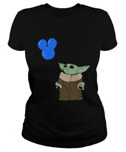 Baby Yoda Mickey Balloon  Classic Ladies