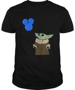Baby Yoda Mickey Balloon  Unisex