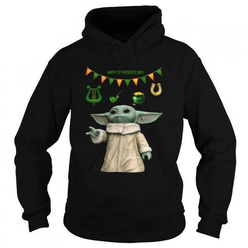 Baby Yoda St Patricks Day  Hoodie