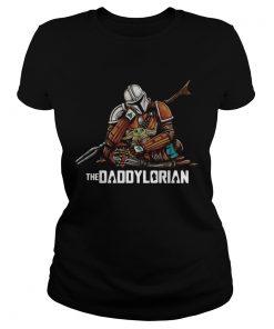 Daddy Baby Yoda The Daddylorian  Classic Ladies