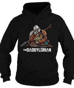 Daddy Baby Yoda The Daddylorian  Hoodie