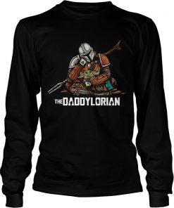 Daddy Baby Yoda The Daddylorian  LongSleeve