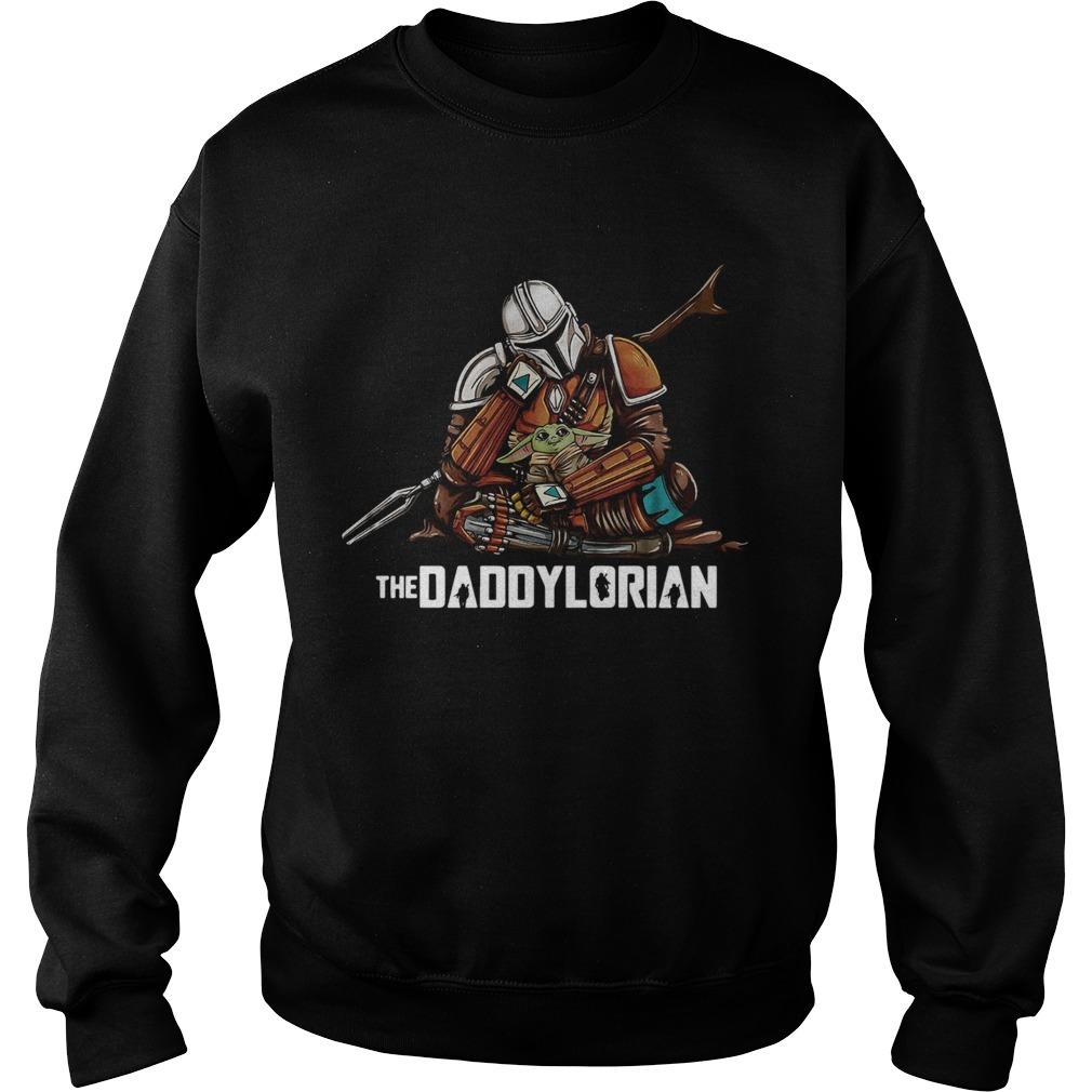 Daddy Baby Yoda The Daddylorian Sweatshirt