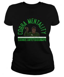 Giannis Antetokounmpo Cobra Mentality  Classic Ladies