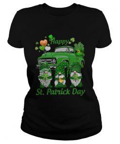 Gnomes Happy St Patricks Day  Classic Ladies