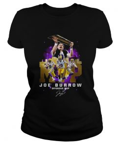 Joe Burrow Offensive MVP Signature  Classic Ladies