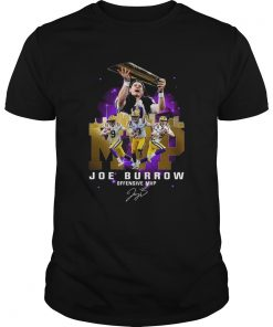 Joe Burrow Offensive MVP Signature  Unisex