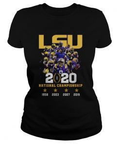 LSU 2020 National Championship  Classic Ladies