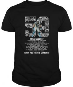 List Prize 59 Luke Kuechly Thank You For The Memories  Unisex