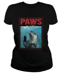 Punxsutawney Phil Paws Shark  Classic Ladies
