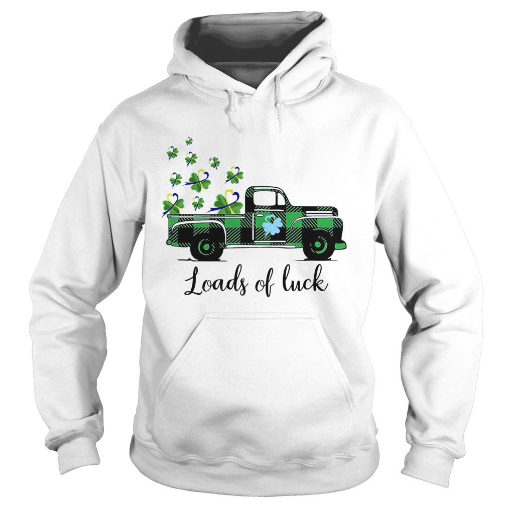 St Patricks Day Loads Of Luck Hoodie