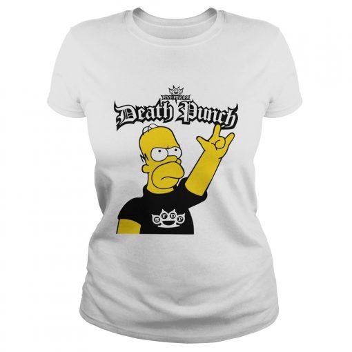 The Simpson Five Finger Death Punch  Classic Ladies