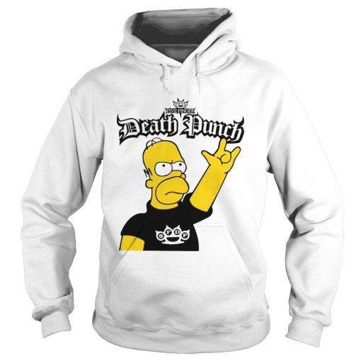 The Simpson Five Finger Death Punch  Hoodie