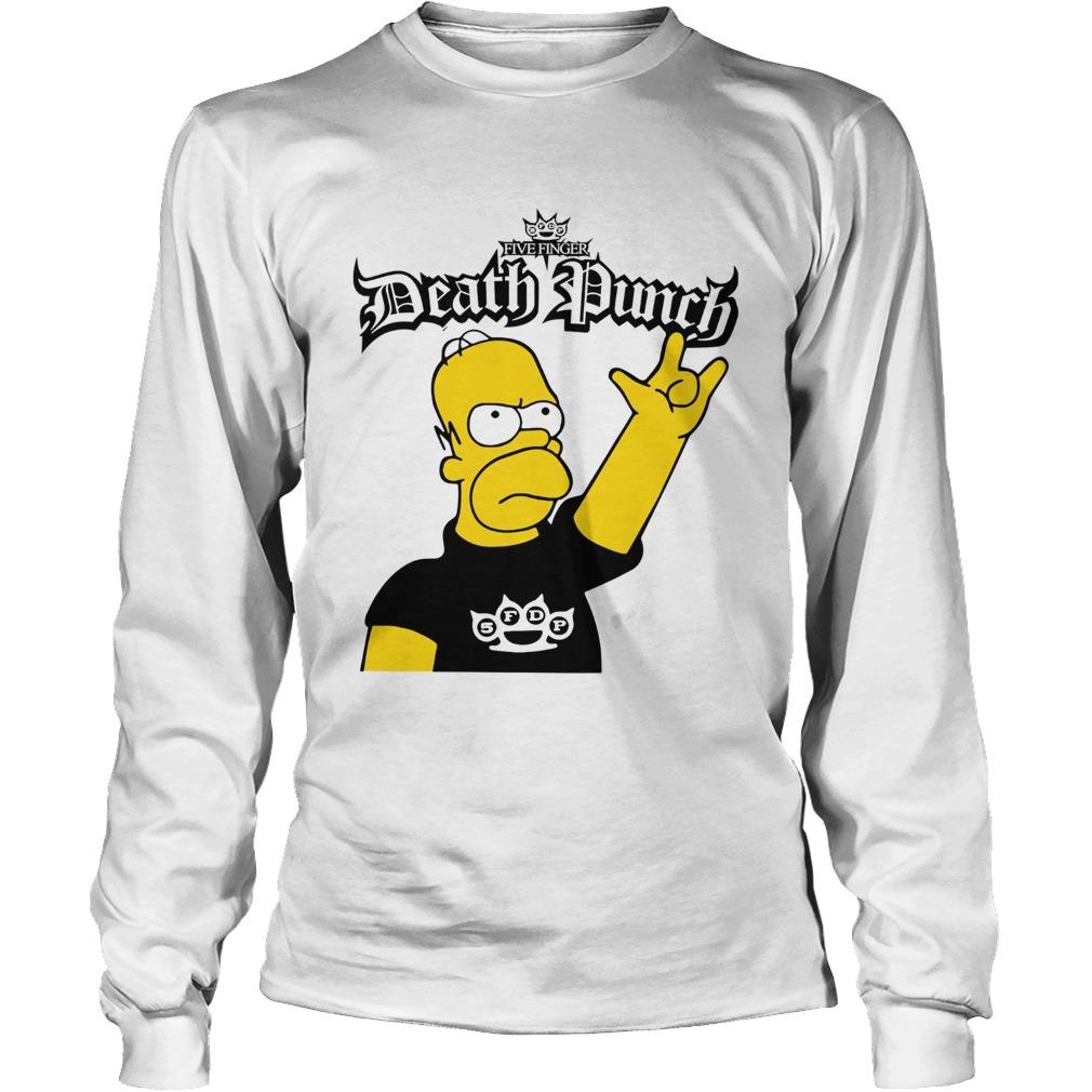 The Simpson Five Finger Death Punch LongSleeve