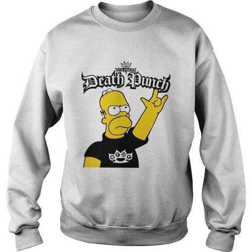 The Simpson Five Finger Death Punch  Sweatshirt
