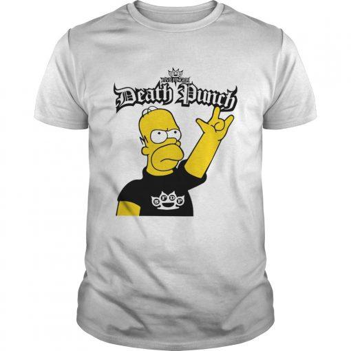 The Simpson Five Finger Death Punch  Unisex