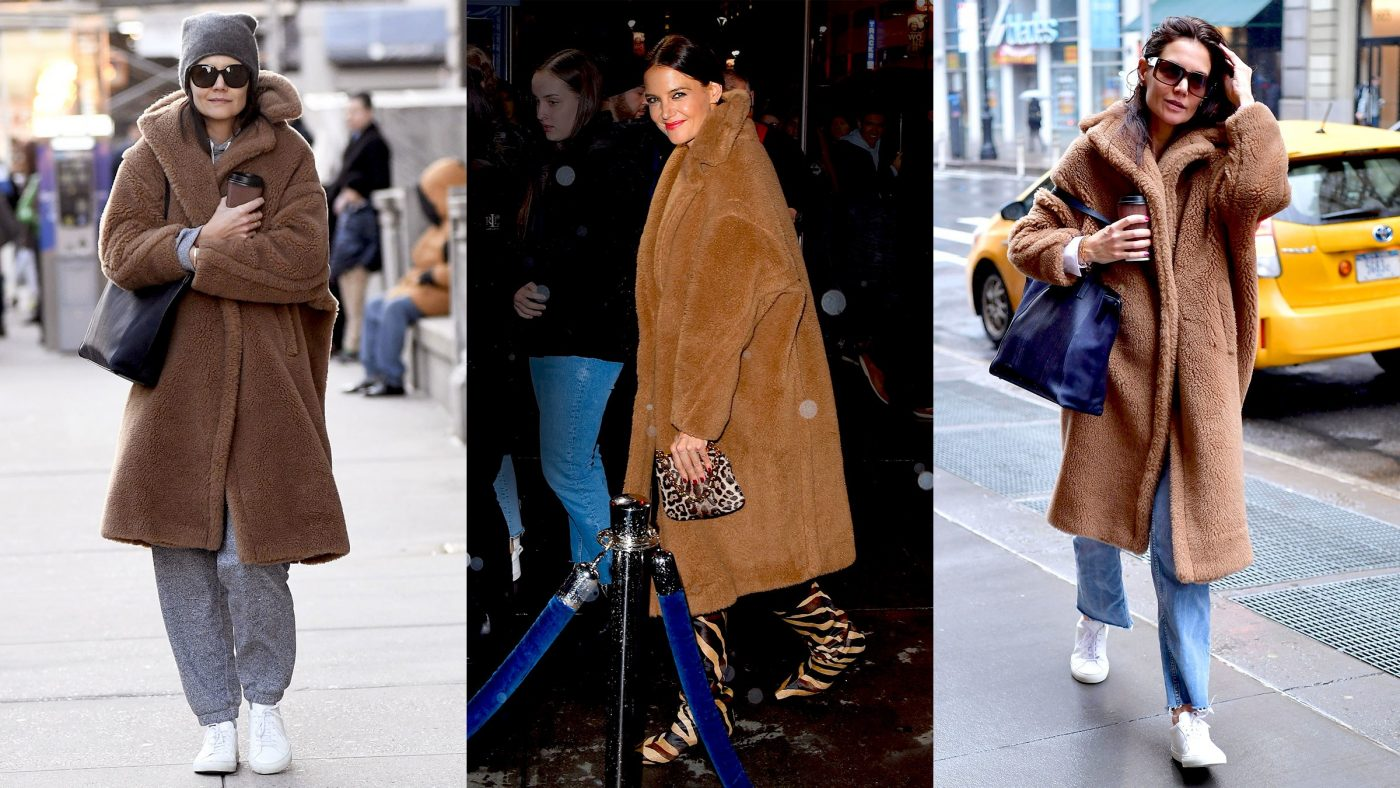 Katie Holmes's 2020 Style Mantra? Reduce Reuse Recycle