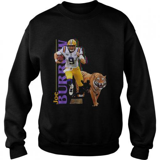 9 Joe Burrow LSU Tigers  Sweatshirt