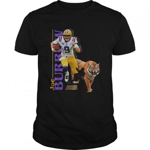 9 Joe Burrow LSU Tigers  Unisex