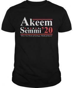 Akeem Semmi 2020 when you think of garbage think of Akeem  Unisex