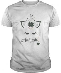 Ava St Patricks Day Personalized Glitter Aaliyah  Unisex